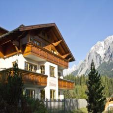 Ferienwohnung mit Blick auf die Berge und ins Ennstal