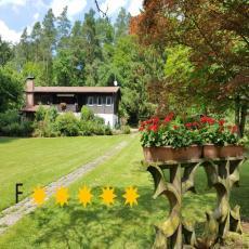 ***** Ferienhaus Naturliebe, 6000m² Parkgarten, eingezäunt ...
