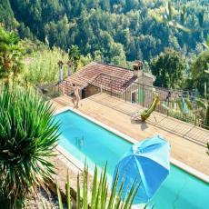 restaurierte Natursteinvilla mit Privat - Pool, WLAN, Klima