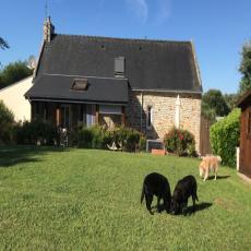 Ruhiges, gemütliches bretonisches Granitsteinhaus mit 4.400 ...