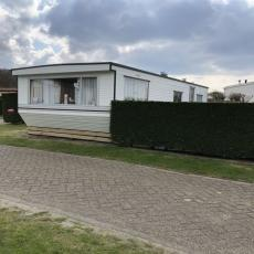 Gepflegtes Mobilheim Skemer auf Texel, Zaun, WLAN